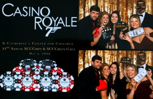 Noble Team at O Snap Photo Booth at St. Catherine's Gala